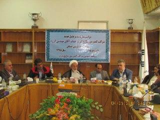 مراسم معارفه مدیر عامل جدیدکمپرسورسازی تبریز