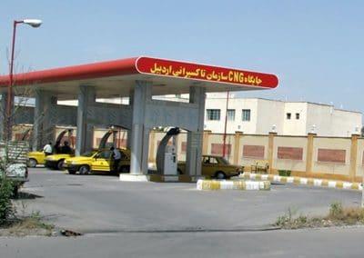 ایستگاه سوخت رسانی گاز طبیعی شركت كمپرسورسازي تبريز