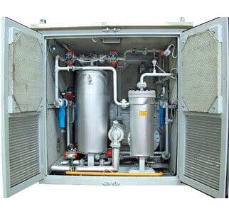 خشک کن گاز طبیعی (درایر)