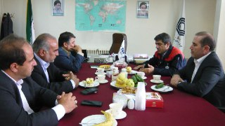 نشست با رئیس اتحادیه جایگاهداران استان و تبریز