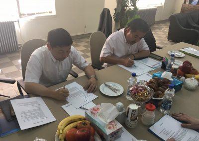 بازدید نمایندگان ویژه و مدیران ارشد کمپانی AIRMAN ژاپن
