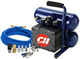 #8: CAMPBELL HAUSFELD FP199599DI 2 gallon, Air Compressor, Twin Stack Tank,