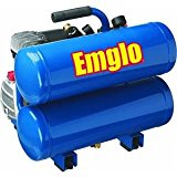 #3: Emglo E810-4V 4-Gallon Heavy-Duty Oil-Lube Stacked Tank Air Compressor