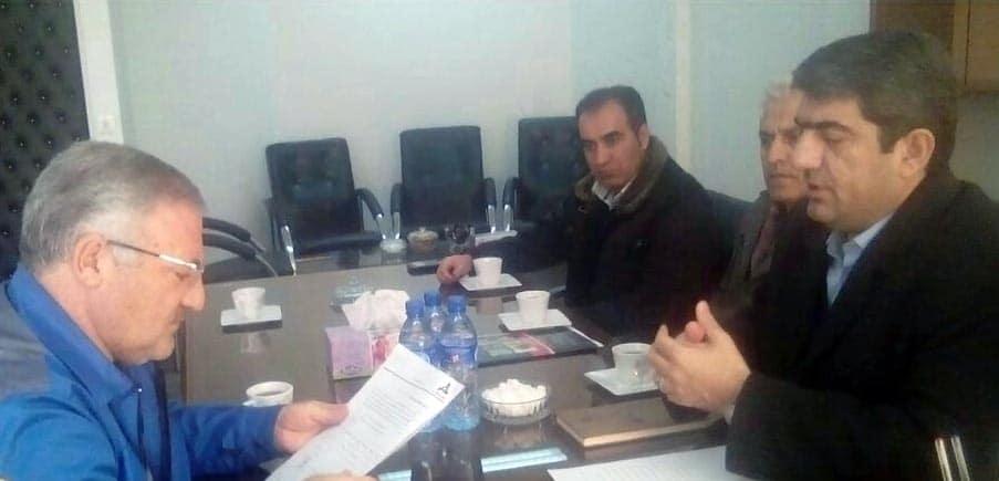 دیدار مدیر عامل کمپرسورسازی تبریز و قائم مقام شرکت چرخشگر