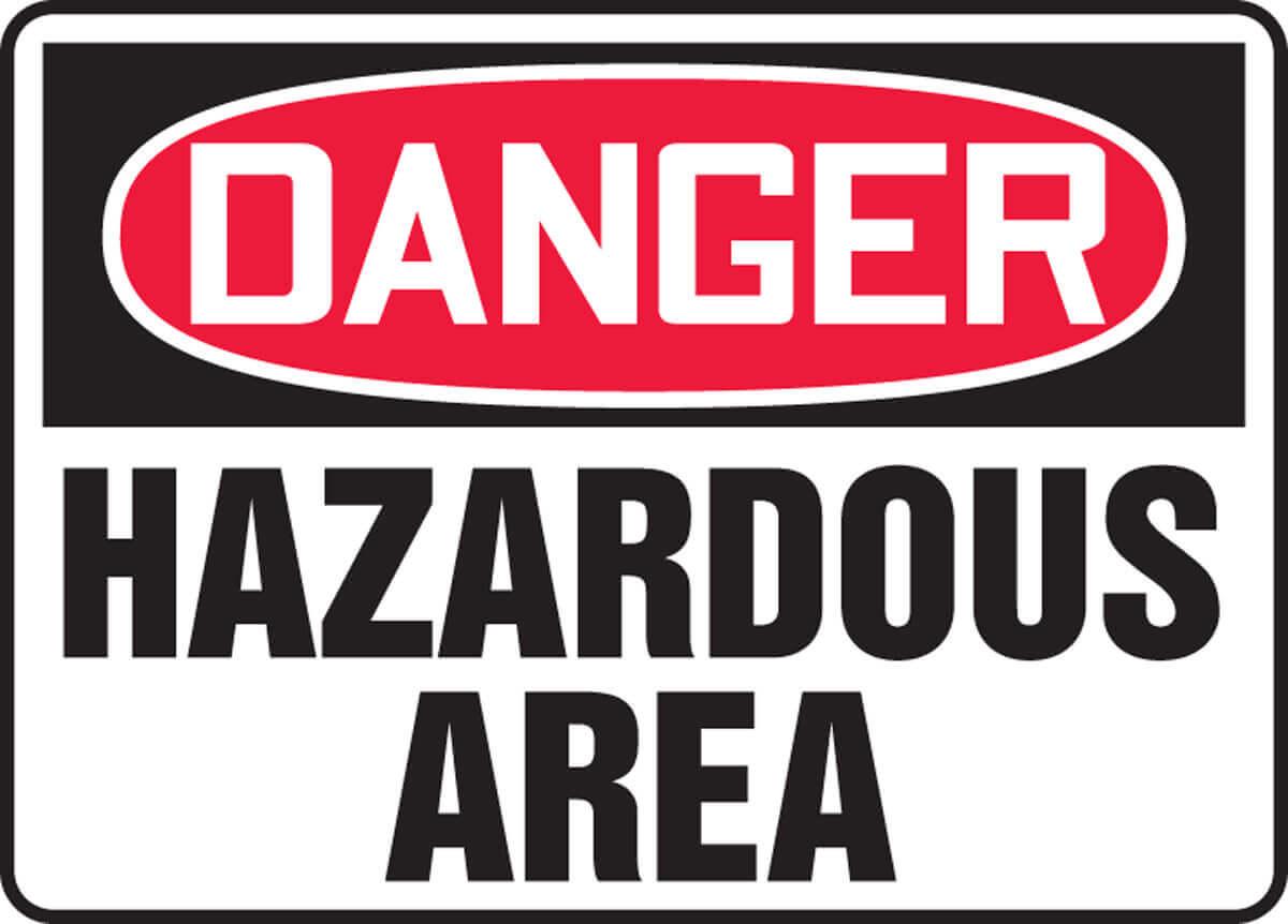 مناطق خطر ناك