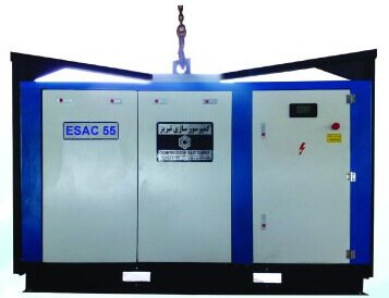 Electrical Skid mounted Air Compressor-ESAC