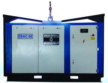 کمپرسور برقی به صورت مونتاژ به روی شاسی ESAC